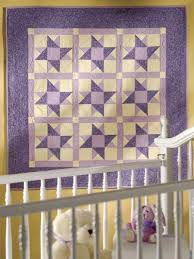 Free Baby Quilt Patterns - Double Star Baby Quilt & Double Star Baby Quilt Adamdwight.com