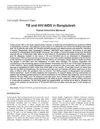 tb and hiv aids in pdf available