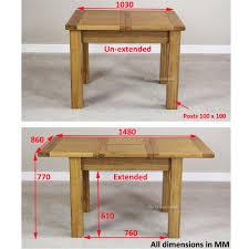 Small Oak Kitchen Tables Cambridge Small Square Oak Kitchen Table 80cm X 80cm Dining Decorate