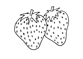 Small Picture Two strawberry coloring pages ColoringStar