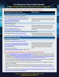 Law Enforcement Cyber Incident Reporting Fbi
