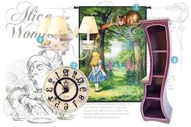 Alice In Wonderland Bedroom Decorations In Wonderland Bedroom Decor In Wonderland  Inspired Home On Wonderland Party