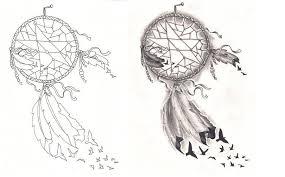 Dream Catcher Tattoo Stencil