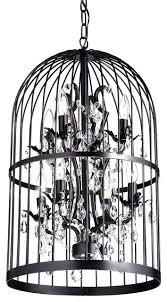 birdcage ceiling light oil rubbed 8 light bird cage crystal chandelier birdcage pendant ceiling light