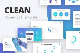 Pptx Themes Clean Powerpoint Template Business Pitch Deck Pptx