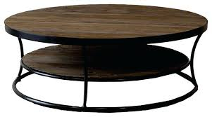 round wood metal coffee table uk