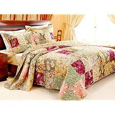 king quilts 120x120. Interesting Quilts French Country Patchwork Quilted Bedspread Set Oversized King To The Floor To Quilts 120x120 S