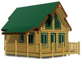 3 Bedroom 2 Bath Log Cabin Kits