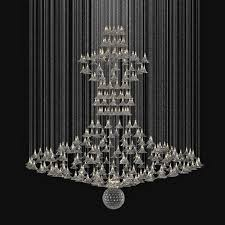 custom made chandelier 3d model max obj mtl 3ds fbx unitypackage prefab 1