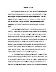 macbeth evil essay evil in macbeth essay examples kibin