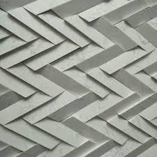 herringbone tile pattern handmade white marble tile backsplash tile fcx15