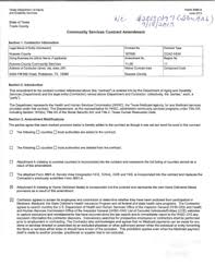Contract Amendment Template Forms - Fillable & Printable Samples For ...