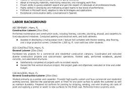 construction worker resume template free construction foreman