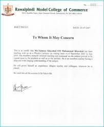 Residence Certificate Format Doc Fresh 55 Beautiful Job Cover Letter
