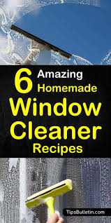 make your own streak free homemade window and glass cleaner includes six diy cleaning recipes