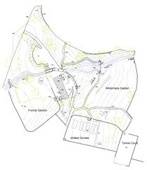 st catherine's estate at windermere landscape survey report Catherine House Model Floor Plan the detailed garden survey undertaken at st catherine's estate 3 Bedroom House Floor Plans