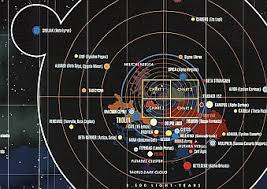 Complete Star Chart Star Trek Map Platial News And Neogeography