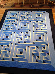 Labyrinth Quilt Pattern Free Impressive Walking Labyrinth Quilt An Amazing Quilt Quilt Quilts