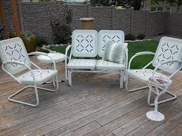 retro metal patio furniture. Awesome Retro Metal Patio Furniture T