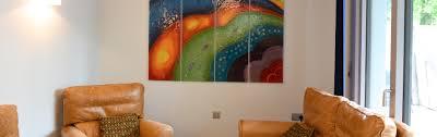 bespoke fused glass wall art the