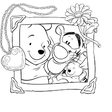 Winnie Pooh Tigro E Ro In Una Foto Insieme La Scuola Di Rosa