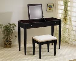 black bedroom vanities. Selecting The Best Vintage Vanity For Bedroom : Simple And Nice Home Furniture Design Of Dark Black Vanities