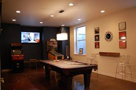 Wooden Games Room Living Room Game Rooms Designs With Modern Pendant Lamp Over 55