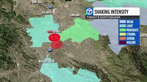 Bay area earthquake map tracking earthquakes in the last 24 hours in the san francisco bay area and surrounding cities published on june 25 2015 at 1110 am. 4 5 Magnitude Earthquake Shakes Bay Area Felt As Far As South Bay Abc7 Los Angeles