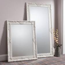large ornate cream mirror james style 170 x 85cm