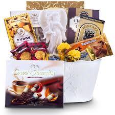 angel seraphim figurine sympathy gift basket canaurmet gift basket