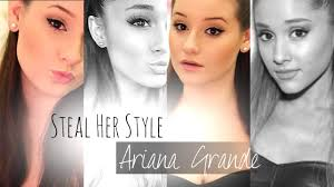 steal her style ariana grande inspired makeup hair outfit