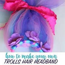 diy trolls hair