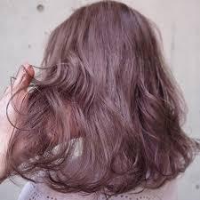 ピンクベージュのヘアカラー画像16選暗めの髪色もブリーチなし