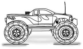 Small Picture Monster Truck Inferno Coloring Page Download Print Online