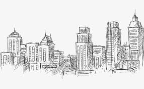 architectural buildings sketches. Brilliant Buildings Architectural Sketch Vector Illustration Material Building Sketch City  PNG And Vector Throughout Architectural Buildings Sketches D