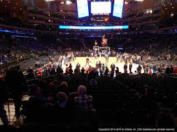 Madison Square Garden Section 8 New York Knicks