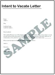 landlord notice to vacate letter tenant sle property from of termination lease agreement template written exle 30 day v