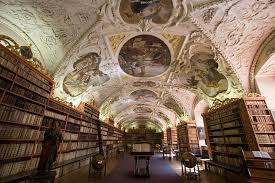 the library at strahov monastery
