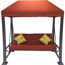 better homes and gardens sullivan pointe 3 person outdoor swing with gazebo paylessdaily com