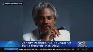 Salsa Legend Johnny Pacheco Dies - YouTube