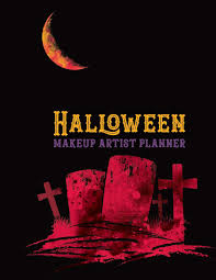 Halloween Makeup Artist Planner Recording Notebook For Face