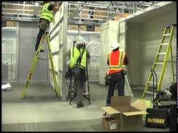 dirtt wall installation time lapse