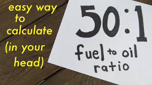 2 Cycle Oil Mix Ratio Chart Bedowntowndaytona Com