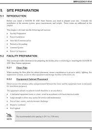 Introduction site preparation