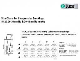 Juzo Compression Sleeve Size Chart Juzo 3512ad Dynamic 30 40 Mmhg Knee Highs With 5cm Silicone Border