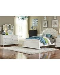 Liberty Furniture Stardust Collection 710-YBR-FPBDM 3-Piece Bedroom Set with Full Panel Bed Dresser and Mirror in Iridescent White from ...
