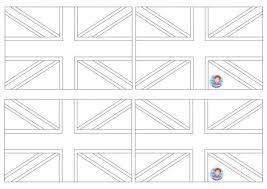 Engelse Vlag Uk Flag Craft Kleuteridee Wereld Paper Piecing