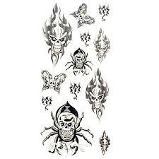 1ks Nový Elegantní Vodotěsný Dočasné Tetování Zápěstí Krk Rameno Noha Tetování Zvíře Lebka Těla Tetování 185 Cm 85 Cm