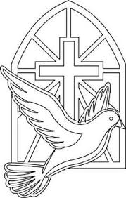 Small Picture Tongues Of Fire Coloring Pages Holy Spirit Pentecost Coloring