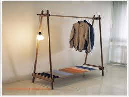 Beautiful Clothing Rolling Rack Storage DIY